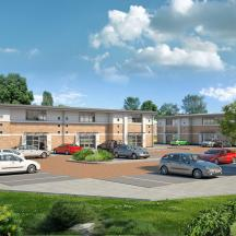 BBC News report: Cotgrave's Hollygate Park: Housing to 'transform' former pit village