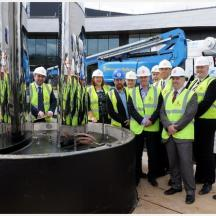 Infinity Park: iconic sculpture installed at £11.8m Innovation Centre