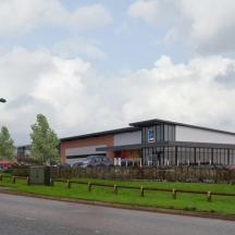 Aldi and Greene King for Nottingham Business Park