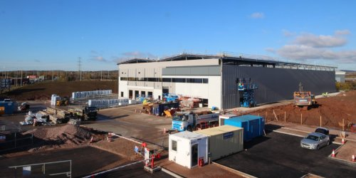 New Facility for Sarstedt at Optimus Point Now Underway