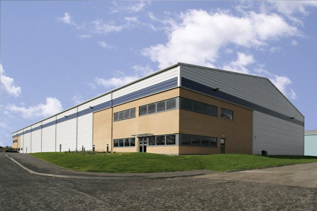 Site 15 industrial unit, Gateway Glasgow
